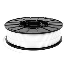NinjaTek Cheetah Flexible Filament - Snow (White), 500g, available from Afinia 3D
