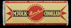 100 år, Choklad,  historiska bilder, marabou