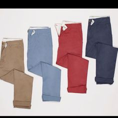 Colored chinos @ Target
