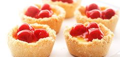 Sandra Lee Cherry-Lemon Meringue Mini Pies- Cherry-Lemon Meringue Mini Pies
