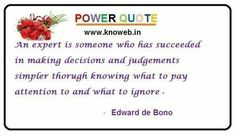 Who is expert ? Here is answer ! Powerful Quotes, Decision Making, Pay Attention, Website, How To Make, Bright Quotes, Making Decisions