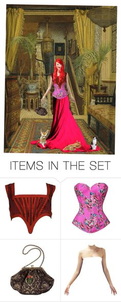 """""""Guys moving around in an victorian frog is allready hard let alone you laying on it"""" by vlaggetje ❤ liked on Polyvore featuring art"""