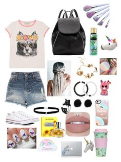 """""""🦄"""" by parisheart101 on Polyvore featuring River Island, Gucci, Converse, Witchery, Twigs & Honey, Lokai, Amanda Rose Collection, Casetify, Jazzelli Designs and Vinyl Revolution"""