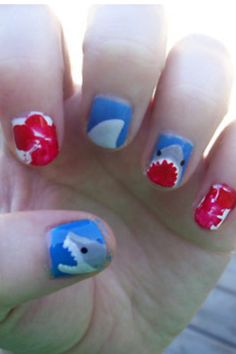 Sharks(:   Bella will like this part of Shark Day