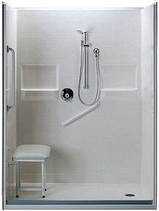 Handicap Showers Ada Showers Stair Lifts Barrier Free