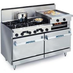 Imperial Ranges IDR-6-RG24 61 Inch Residential Natural Gas Range