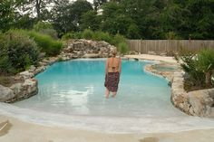 VistaPro Landscape & Design - Swimming Pools - Beach Entry Pool Elegance, Severna Park, MD