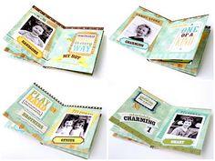 echo park paper co.: Mini Albums with Design Team Expert Lowri McNabb