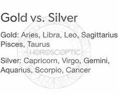 Actually i prefer silver#pisces