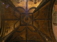 San Giovanni in Laterano baptistery. Chapel of St. John the Baptist. Lamb. Ceiling mosaic, early 5th c.