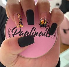 Cute Acrylic Nails, Glitter Nails, Nail Polish Designs, Nail Art Designs, Swag Nails, My Nails, Nails Design With Rhinestones, Summer Nails, Pretty Nails