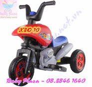 http://xemotodienchobe.taihcm.net/2014/01/xe-may-dien-tre-em-x3d10.html Tên sản phẩm: Xe 3 bánh điện X3Đ10 Danh mục sản phẩm: xe moto điện trẻ em Lứa tuổi sử dụng: 1.5 - 8 tuổi Kích thước: 56.0 * 42 * 56 (CM)  Trọng lượng (kg): 5,8 kg  Tổng trọng lượng (kg): 7 kg  Thời gian sạc 6V 4Ah :8-12 giờ, không được hơn 20 giờ  Tốc độ: 2,5 km / giờ  sạc điện áp đầu vào: AC 220V 50Hz  Charger đầu ra: DC 6V 500mA  giới hạn trọng tải: 25kg  màu sắc: màu xanh / đỏ / vàng ·         Bảo hành 12 tháng