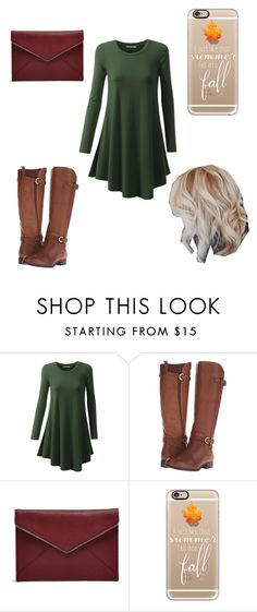 """""""till the season of fall"""" by a-hidden-secret ❤ liked on Polyvore featuring Naturalizer, Rebecca Minkoff and Casetify"""
