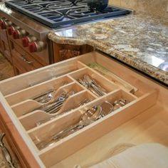 Beau Silverware Storage Silverware Storage, Kitchen Remodeling, Storage Solutions,  Denver, Updated Kitchen,
