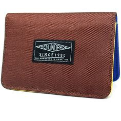 The Hundreds Sylvester Wallet (Maroon) $31.95 The Hundreds, Card Holder, Wallet, Cards, Rolodex, Maps, Playing Cards, Purses, Diy Wallet