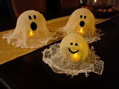 Kids Super Easy Ghost Luminary Craft | The Honorable Mention Preschool Blog