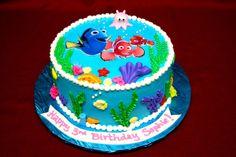 Cake Creations Bakery - Finding Nemo Cake