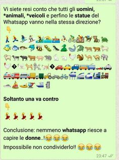 Siamo uniche Funny Chat, The Funny, Funny Video Memes, Funny Jokes, Verona, Italian Memes, Serious Quotes, Funny Scenes, Funny Moments