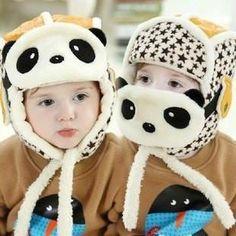 Baby - Lovely Panda Baby Hats