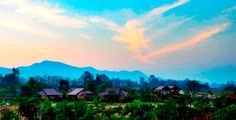 Three Cosy Boutique Resorts with Picturesque Setting Pai Thailand, Resorts, Cosy, Northern Lights, Budget, Boutique, Mountains, Nature, Travel