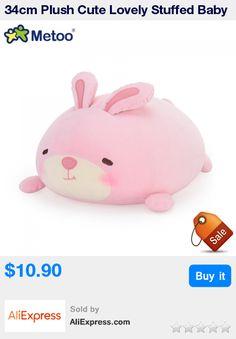 34cm Plush Cute Lovely Stuffed Baby Kids Toys for Girls Birthday Christmas Gift Lion Panda Rabbit Bear Cushion Pillow Metoo Doll * Pub Date: 23:15 Oct 15 2017