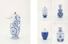 Céramiques pour Kutani Choemon,  j'aime j'aime Jaime Hayon !