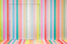 Junkculture: A Colorful Installation Created from Thousands of Rolls of Tape