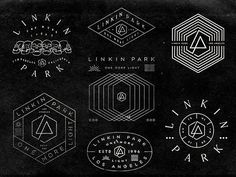 New Linkin Park designs by Brandon Rike. lp  #brandonrike #lp2017 #linkinpark  #f4f #l4l #like4like