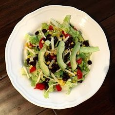 RD Tip of the Day : 10 Simple Satisfying Salads - Fiesta Salad