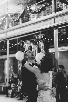 1st dance - New Year's Eve Cleveland Wedding by Suzuran Photography - via ruffled
