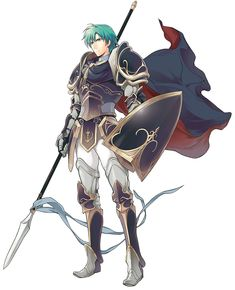 Fire Emblem: Awakening - Ephraim He's my favorite Lord class in his origin game, Fire Emblem: Sacred Stones.