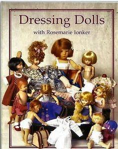 50 Plus Doll Clothes Patterns Small, Medium & large NEW Dressing Dolls