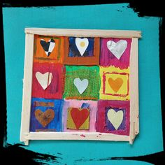 Un cadre aux 9 coeurs