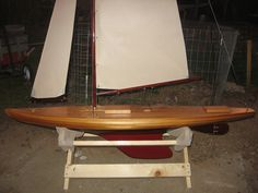 Cheerio II Vintage Marblehead 50/800 RC Sailboat(250)