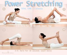 Power Stretching - The Best Way to Start the Day