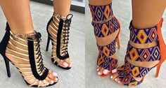 20 Amazing Shoes From Romanian Shoe Brand dEpurtat.I Love Those Editorial Funky Sandals With A Unique,Tribal Flair.
