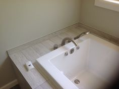 Axor Stark 4-hole Roman Tub Set in the Master Bath.
