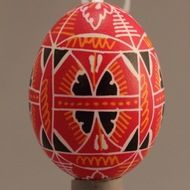 Decorated eggs imported from the Czech Republic. Egg Decorating, Traditional Design, Czech Republic, Eggs, Handmade, Hand Made, Egg, Bohemia, Egg As Food