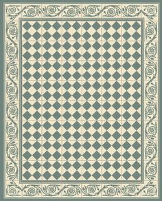 Black and white tile floor paper doll house print it for Carrelage 4000