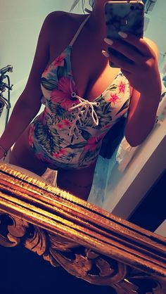 Flowers swimwear