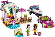 """With LEGO Friends sets from Toys""""R""""Us, kids of all ages can experience a new world of enchantment and adventure. We carry dozens of fun LEGO Friends products. Legos, Toys For Girls, Kids Toys, Lego Friends Sets, Friends Series, Diy Educational Toys, Character And Setting, Lego Construction, Party Scene"""