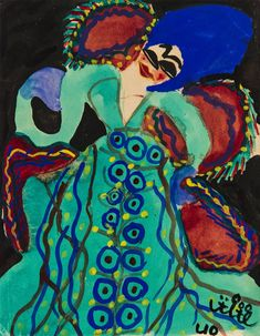 The paintings of Baya Mahieddine, known for her bold colors and woman-centric compositions, are being exhibited at NYU's Grey Art Gallery through March The artist is said to have influenced Picasso. Matisse, Gouache, Contemporary African Art, Grey Art, Black Artists, Outsider Art, Picasso, Paris, Kebaya