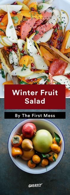 7 Brunch Recipes to Help You Crush the First Day of 2017 Breakfast Fruit Salad, Brunch Salad, Breakfast For A Crowd, Best Breakfast, Winter Fruit Salad, Clean Lunches, Healthy Brunch, Easy Family Dinners, Food Preparation