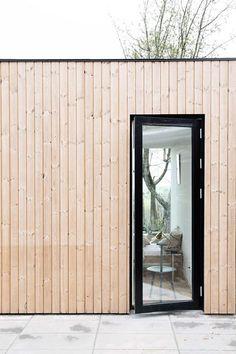 Villa One by EFFEKT | Timber-clad house in Copenhagen designed for growing family—but matching cost of cheapest Danish kit homes… www.effekt.dk/villa-one