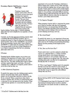 Worksheet Bipolar Disorder Worksheets confusion the two and adhd in children on pinterest
