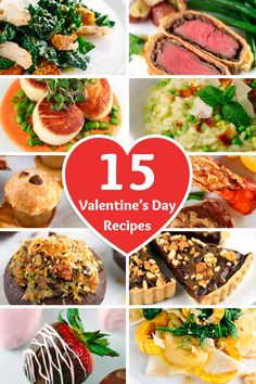 15 Romantic Valentine's Day Recipes - Impress that special person with a delicious home cooked meal   jessicagavin.com