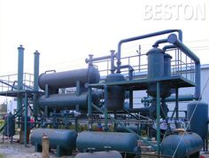 The waste plastic to diesel production lines mainly includes pyrolysis oil plant production line and distillation equipment production line.