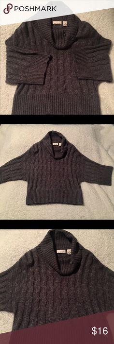 DKNY 3/4 sleeve sweater, cow neck-sz Med DKNY 💓 sweater-gorgeous 3/4 length sleeve sweater w/cow neck DKNY Sweaters Cowl & Turtlenecks