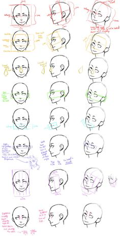 Today's Drawing Class 101: The face