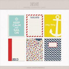 Shipshape Journaling Cards